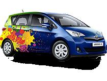 eLab Design Portfolio Toyota Verso S Web